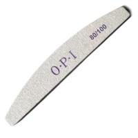 Пилка для ногтей полукруг OPI 80/100