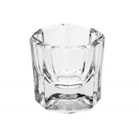 Прозрачный стаканчик без крышечки для мономера и хны, 20 мл