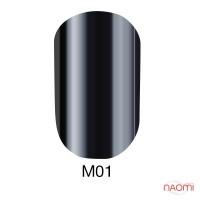 Гель-лак Naomi Metallic Collection M01, 6 мл