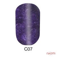 Гель-лак Naomi Cat Eyes С07, 6 мл