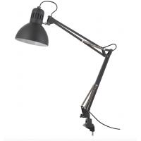 Настольная лампа для маникюра Е27-60W DELUX TF-06 струбцина, черная