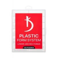 Нижні арочні форми для моделювання нігтів LOWER ARCHED FORMS Kodi Professional (120 шт. в уп)