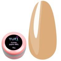Гель для наращивания Tufi Profi UV Gel - Cover Dark, 15 г