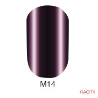 Гель лак Naomi Metallic Collection M14, 6 мл