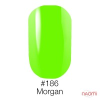 Гель-лак Naomi Neon Color 186 - Morgan, 6 мл