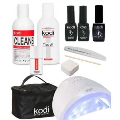 Закажите набор для гель-лака Kodi Professional №3 и получите 5% бонусов от суммы для оплаты следующего заказа