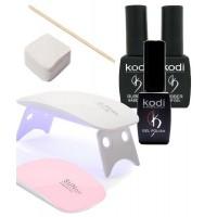 Стартовый набор mini KODI для покрытия гель-лаком с лампой SUN mini 6 Вт