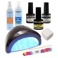 Стартовый набор OXXI Professional для покрытия гель-лаком с лампой SUN ONE 48 Вт