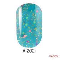 Гель-лак Naomi Candy Bar 202, 6 мл