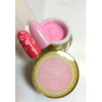 3D Emboss Gel CANNI 002 (нежно-розовый) гель-паста 8мл