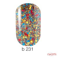 Гель-лак Naomi Gel Polish Brilliant 231, 6 мл