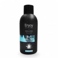 Универсальная жидкость Enjoy Professional 3 в 1 Nail Prep & Cleancer, 150 мл