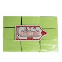 Серветки безворсові жорсткі Special Nail 6х4см, 1000 шт, зелені