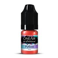 Перламутровая краска для аэрографии OneAir Professional (рубин), 5 мл
