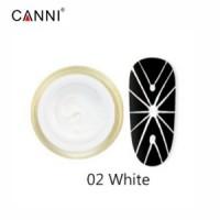 Гель-паутинка для дизайна ногтей 3D CANNI