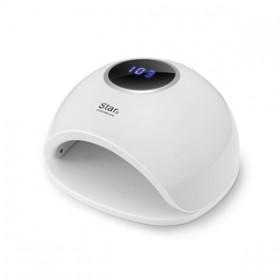 Светодиодная LED/UV лампа STAR 5 с памятью таймера 48W Цвет Белый