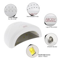 Светодиодная LED/UV лампа SUN ONE 48W Цвет Белый