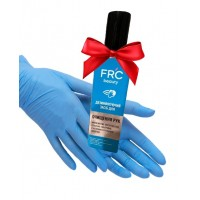 Перчатки Prestige XS Мedical без пудры, текстурированные, голубые 100 штук