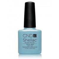 Гель-лак CND Shellac Azure Wish (голубой с мельчайшим искрящимся блеском), 7,3 мл