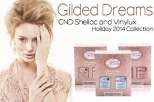 Лимитированная коллекция Gilded Dreams от CND теперь представлена в мини-наборах