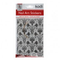 New! Наклейки KODI Nail Art BP052 (Черный)