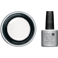 Гель для дизайна Brisa CND Paint Pure White Opaque, 12 мл
