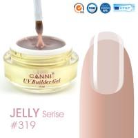 Canni UV Builder Gel Nude Gray полупрозрачный №319, 15 мл