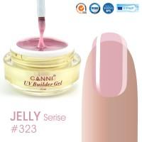 Canni UV Builder Gel Natural Pink полупрозрачный №323, 15 мл
