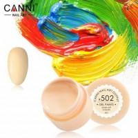 Гель-краска №502 CANNI (пастельно-персиковая), 5 мл