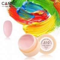 Гель-краска №510 CANNI (розово-молочная), 5 мл