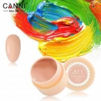 Гель-краска №511 CANNI (пастельно-оранжевая), 5 мл