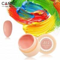 Гель-краска №512 CANNI (розово-карамельная), 5 мл