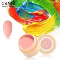 Гель-краска №513 CANNI (нежно-розовая), 5 мл