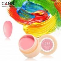 Гель-краска №514 CANNI (розово-персиковая), 5 мл