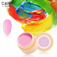 Гель-краска №516 CANNI (пастельная лилово-розовая), 5 мл
