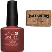 NEW! CND Shellac Hand Fired