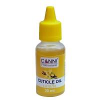 Масло для кутикулы CANNI (ваниль), 30 мл
