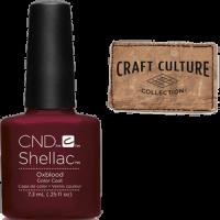 CND Shellac Oxblood 7, 3 мл