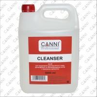 Средство для обезжиривания, дегидратации и снятия липкого слоя Cleanser 3 in 1 CANNI, 5000 мл