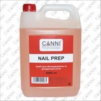 Средство для обезжиривания и дегидратации ногтей Nail prep CANNI, 5000 мл