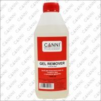 Жидкость для снятия гель-лака Gel remover CANNI, 1000 мл