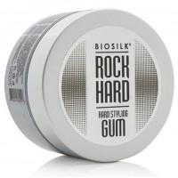 Эластик-гель для укладки волос экстрасильной фиксации / BioSilk Rock Hard Styling Gum, 54 г