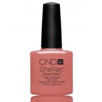 Гель-лак CND Shellac Clay Canyon (пастельный розовый), 7,3 мл
