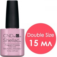 Гель-лак CND Shellac Fragrant Freesia (бежево-розовый с шиммером), 15 мл