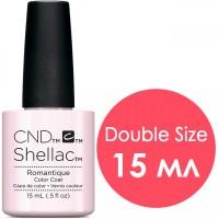Гель-лак CND Shellac Romantique (розовый камуфлирующий, без перламутра), 15 мл