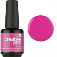 Гель-лак CND Creative Play Berry Shocking #409 (ярко-розовый, эмаль), 15 мл