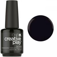Гель-лак CND Creative Play Black Forth #451 (чёрный, эмаль), 15 мл