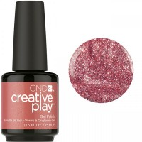 Гель-лак CND Creative Play Bronzestellation #417 (коричнево-вишневый с микроблёстками), 15 мл