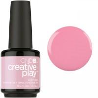 Гель-лак CND Creative Play Bubba Glam #403 (пастельный розовый, эмаль), 15 мл