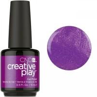 Гель-лак CND Creative Play Fuchsia Is Ours #442 (пурпурно-фиолетовый с микроблеском), 15 мл